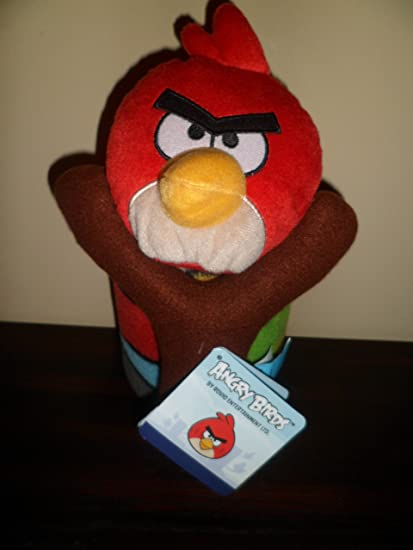 Amazon.com: Angry Birds Figura y funda de almohada Set Por ...