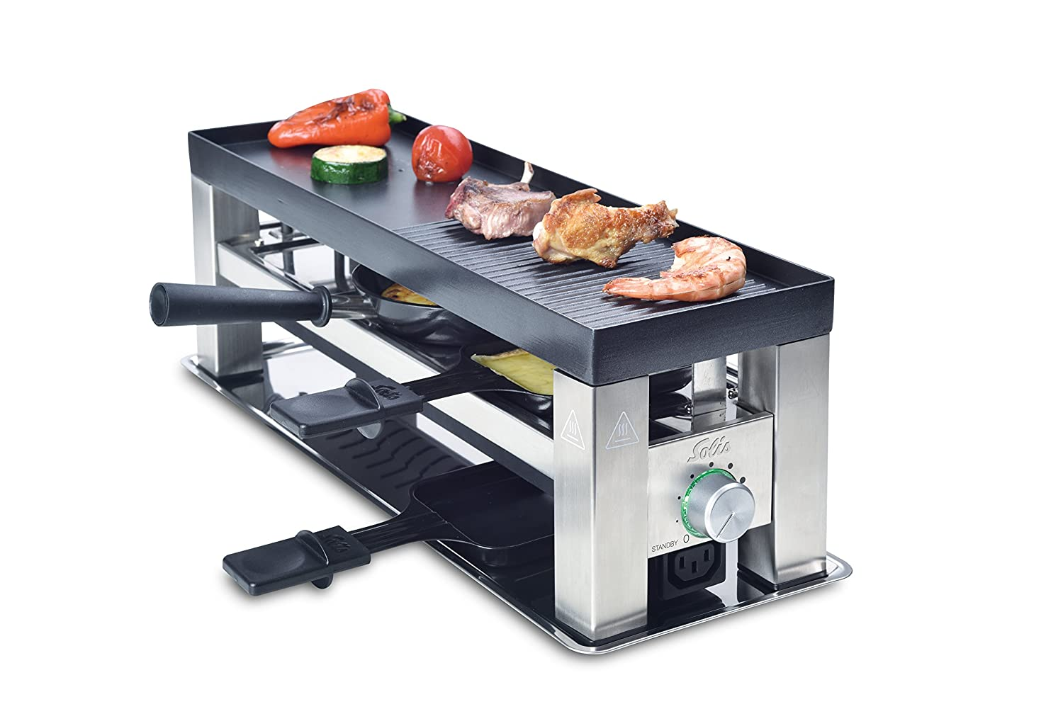 Wmf Elektrogrill Idealo : Amazon.de: solis grill 4 in 1 raclette tischgrill wok crêpes 3