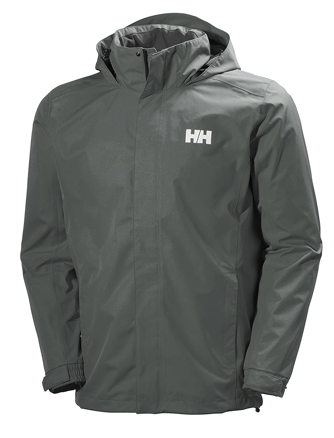 Helly Hansen Men's Dubliner Shell Jacket, Rock, Large 62643