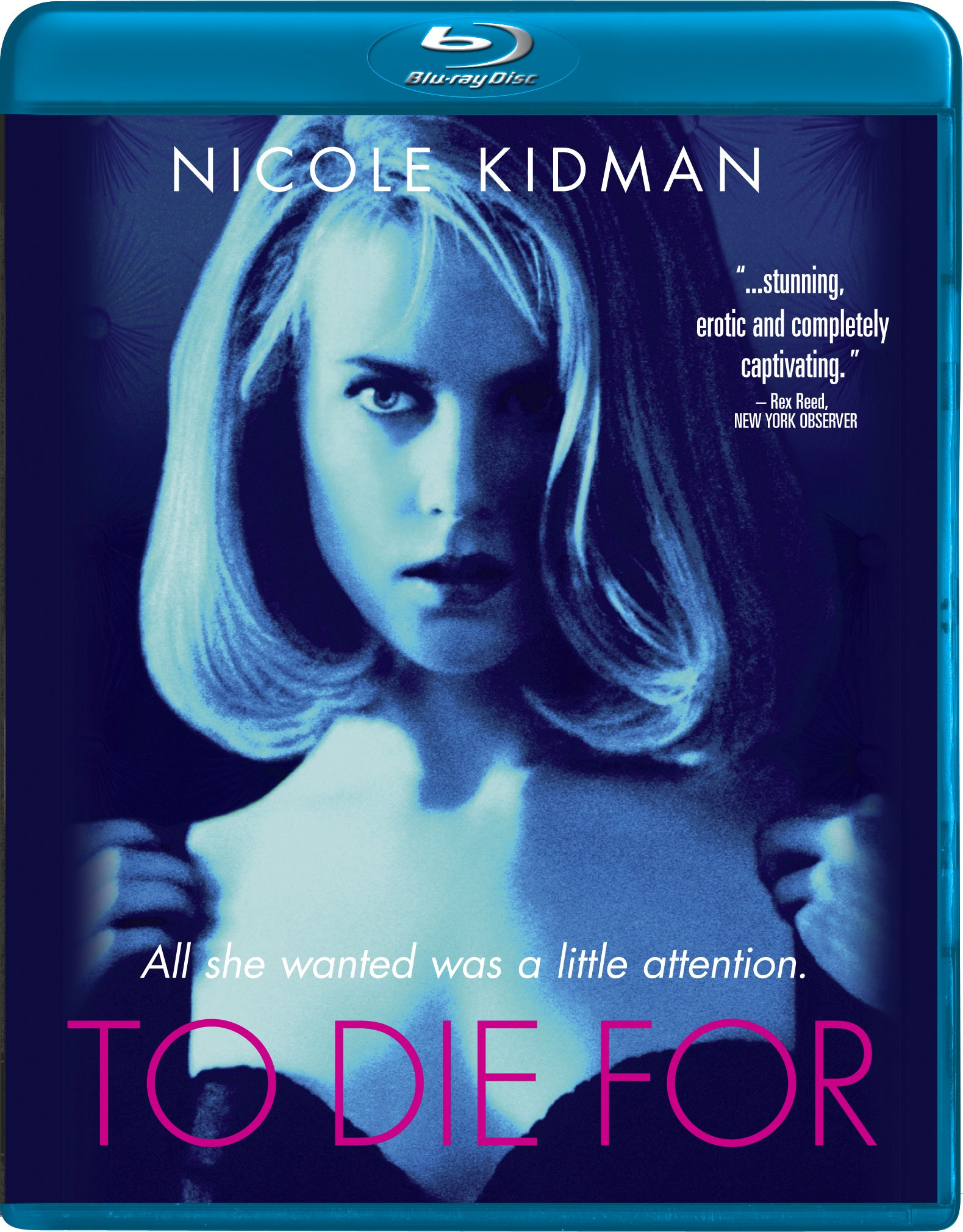 Blu-ray : To Die For (Widescreen, Digital Theater System, AC-3)