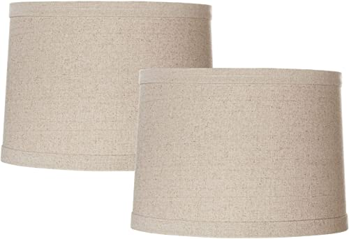 Upgradelights 5 Inch Set of 6 Chandelier Shades in Eggshell Pure Silk 3x5x4.25