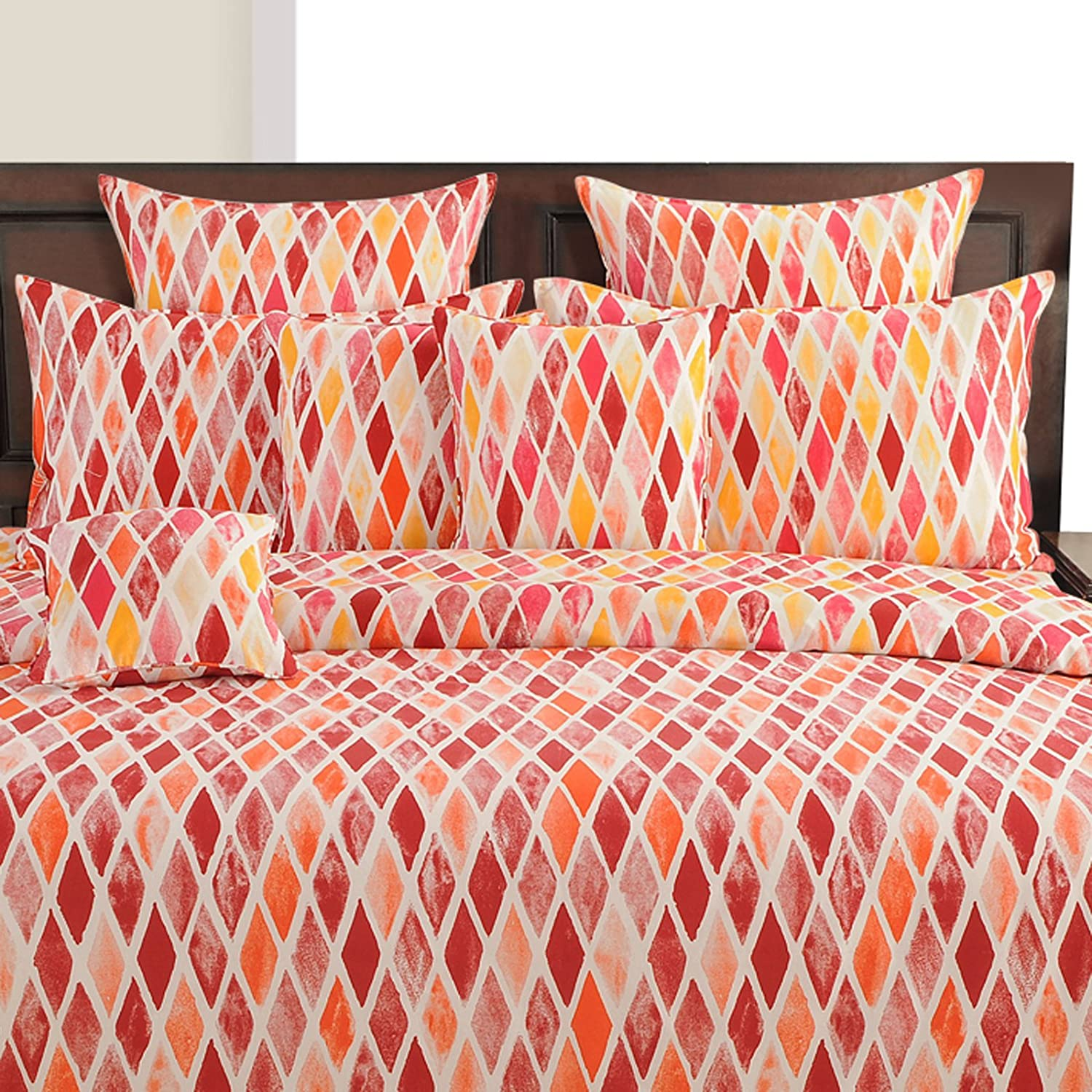 multicolor comforters and quilts sale Рease bedding with style - yuga d̩cor multicolor decorative queen size comforter