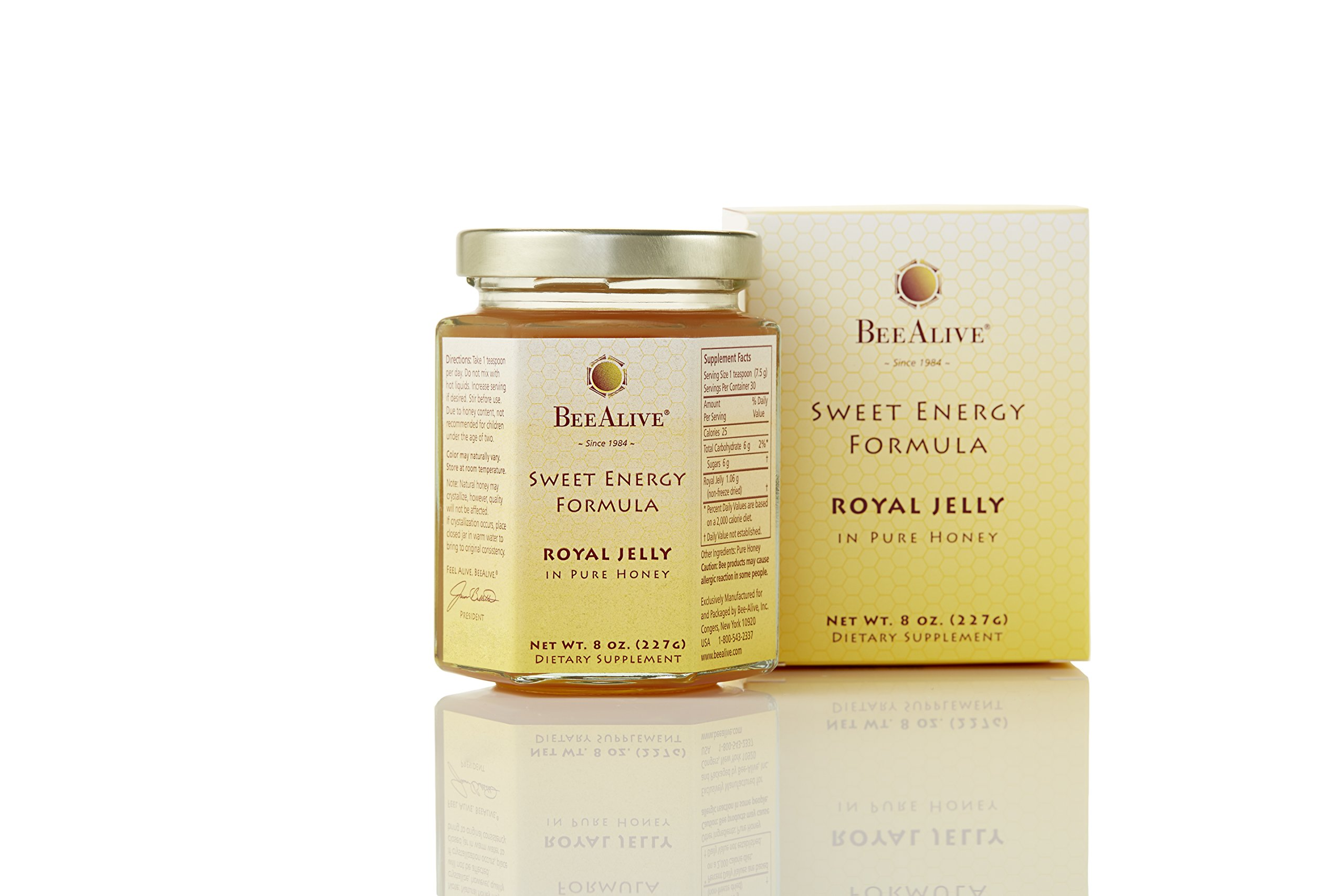 BeeAlive Sweet Energy Formula (Queen's Harvest) Royal Jelly and Honey