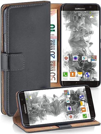 MoEx® Funda Cartera [protección 360°] Compatible con Samsung ...