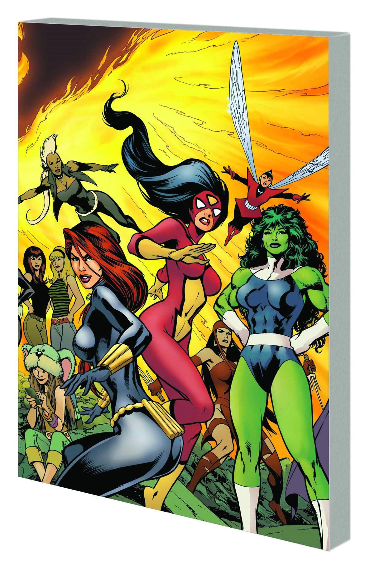 Read Online Women of Marvel: Celebrating Seven Decades ebook