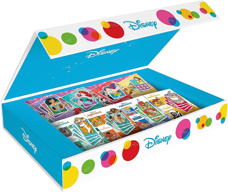 Disney 108519992 - Estuche para coleccionar (8 Juegos de Cartas): Amazon.es: Juguetes y juegos