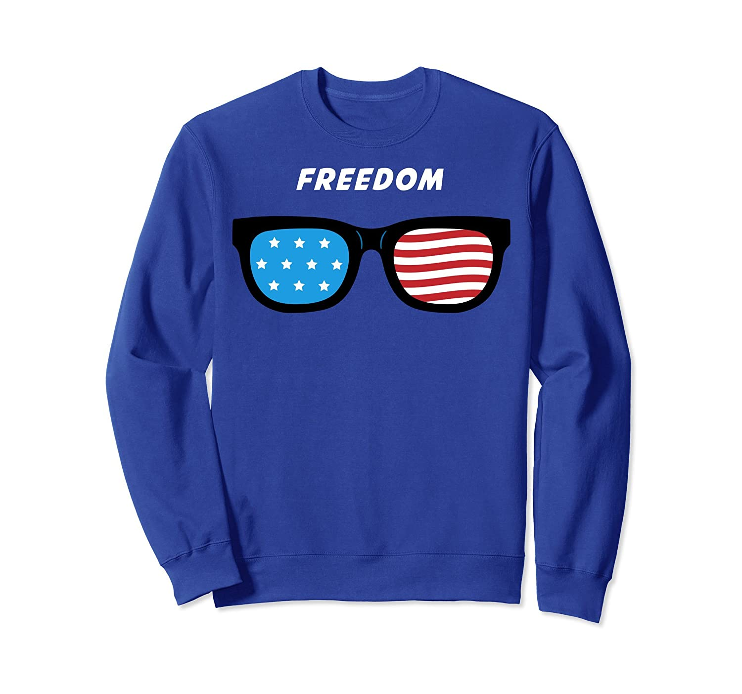 4th July Shirts for Men - Patriotic Freedom Sweatshirt-mt