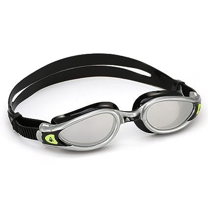 latest sleek new list Aqua Sphere Kaiman Exo Ladies Mirrored Lens Swimming Goggles - Silver/Black