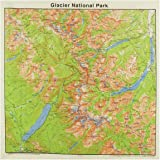 Printed Image Topographical Map Bandanas