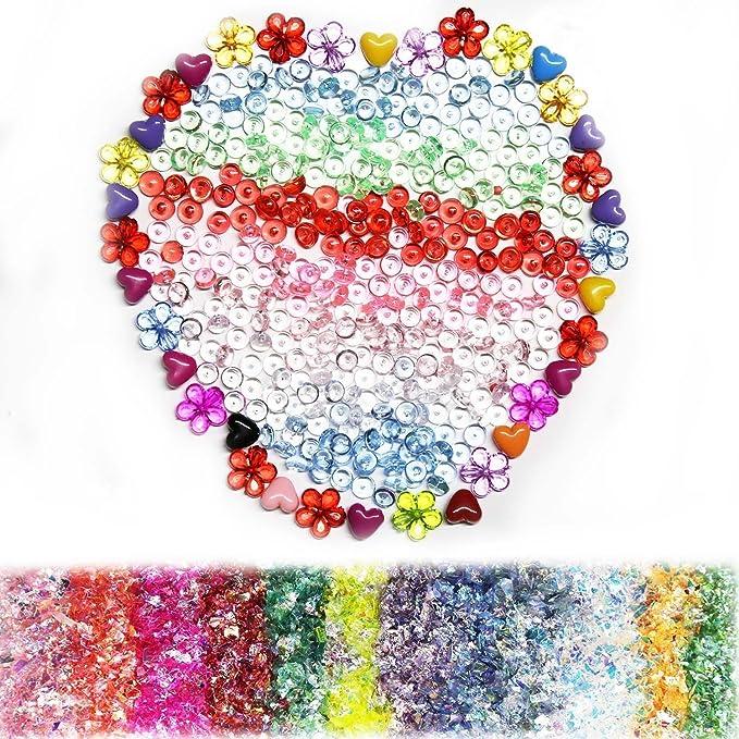 Nykkola - Kit de accesorios para hacer Slime bolas de espuma finas ...