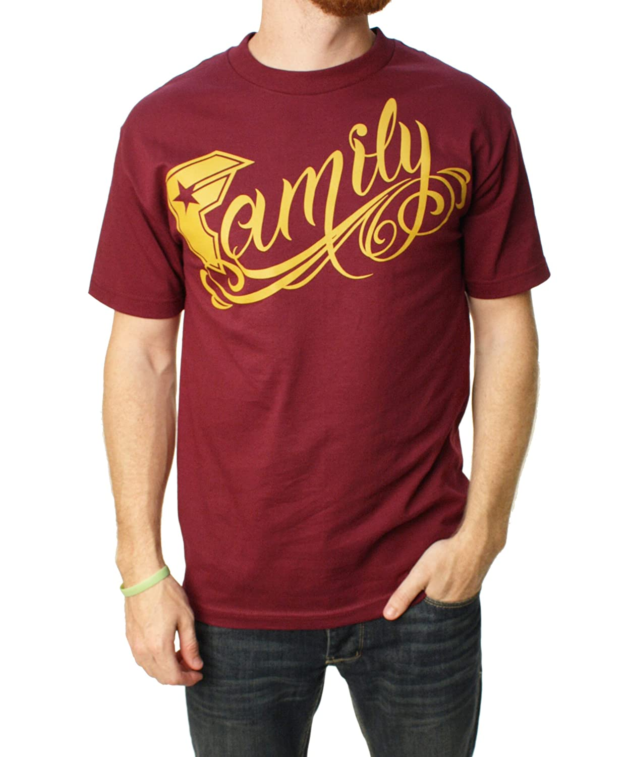 Famous Stars And Straps Men's Big Family Graphic T-Shirt