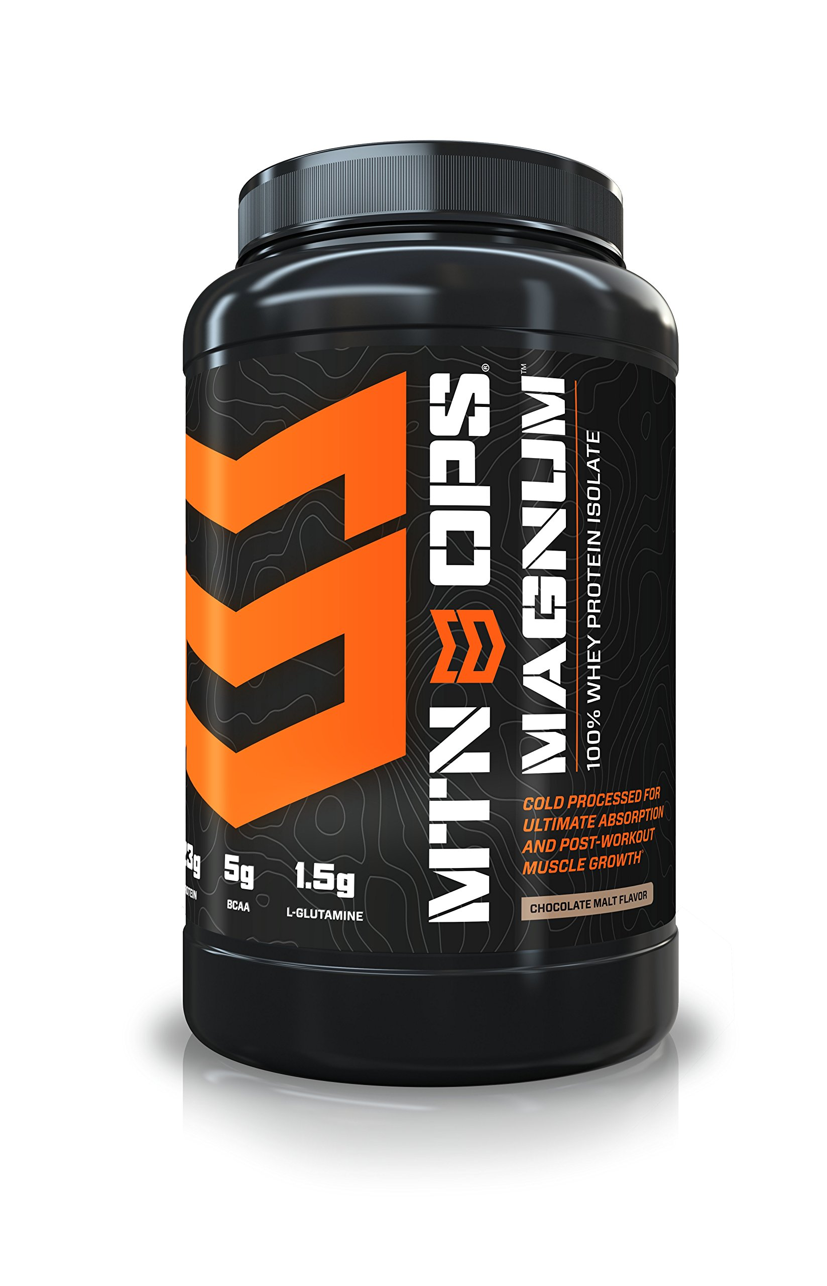 MTN OPS Magnum Whey Protein Powder, Post-Workout Muscle Growth and Recovery, Chocolate Malt Flavor, 32 Servings per Container