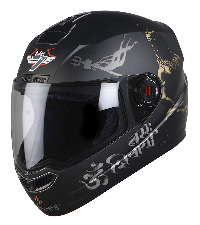 Steelbird SBA-1 Mahadev Full Face Helmet