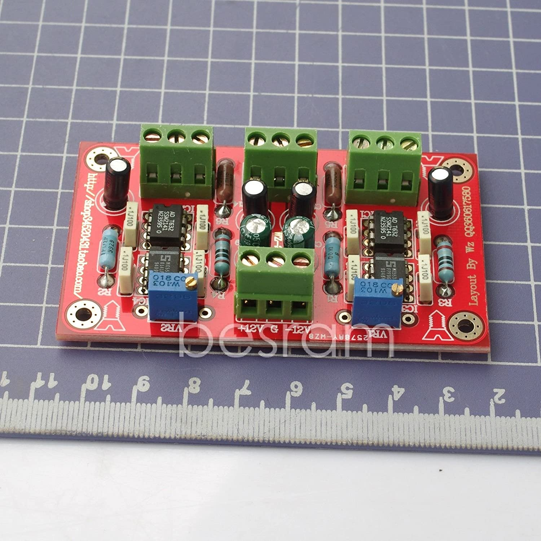 Dual Channel Ssm2141 Preamplifier Board Dc 9v 15v No Portable Headphone Amplifier Circuit Diagram Electronics