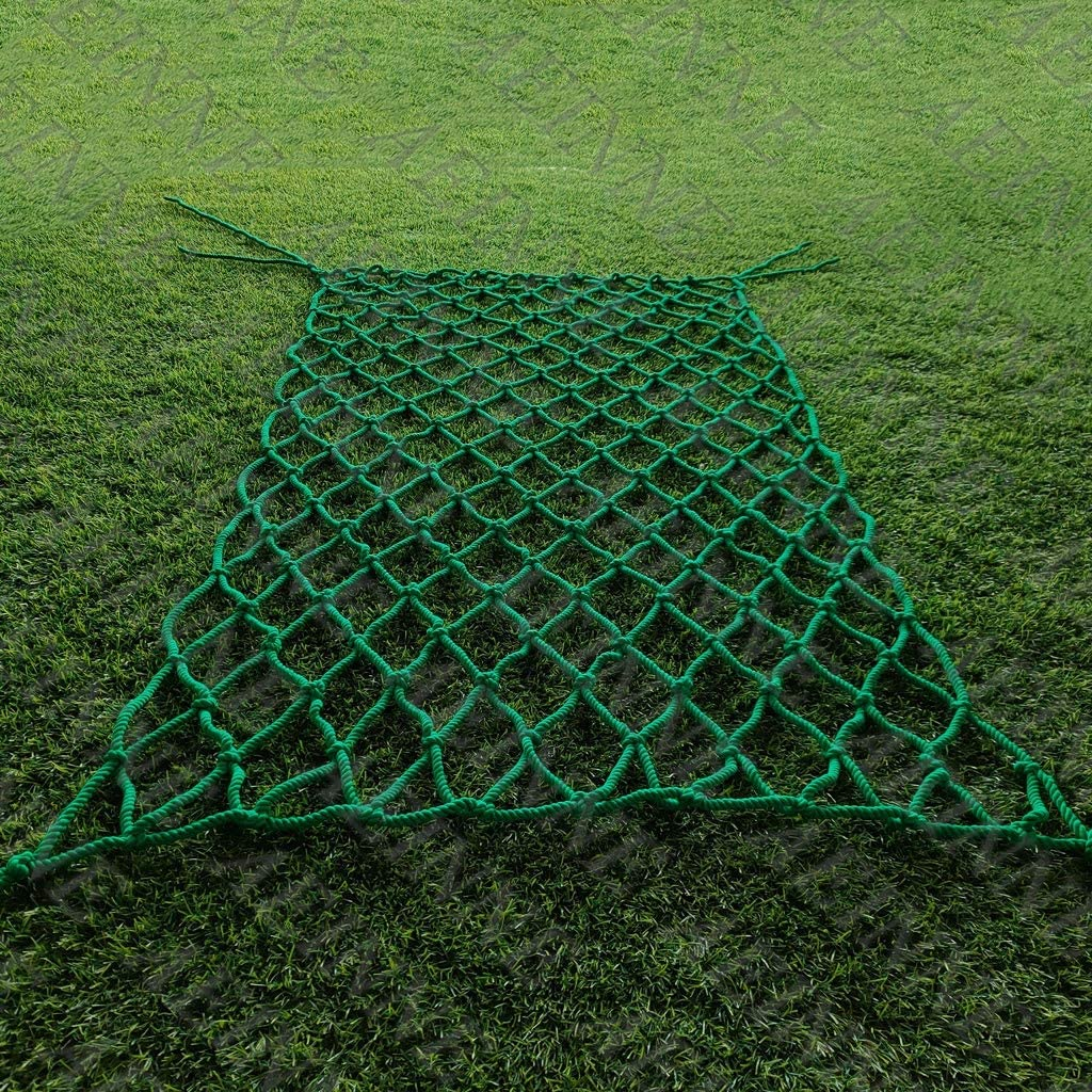 AEINNE Green Netting,Safety Net Safety Netting for Kids Green Cargo Net Mesh Rope Fence Fencing Garden Nets Child Patio Banister Stairway Railing Balcony Protection Stairs Indoor Protective Cotton