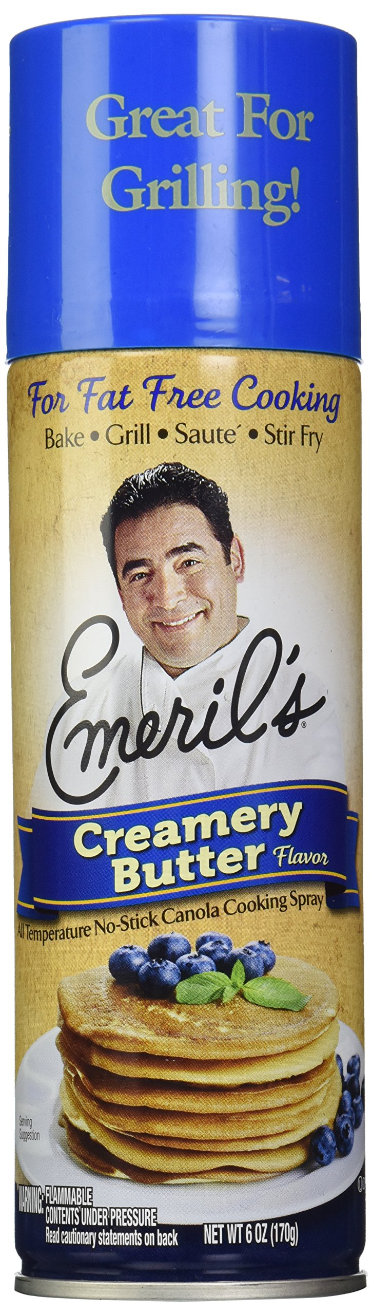 Emeril Butter Flavor Cooking Spray, 6 oz