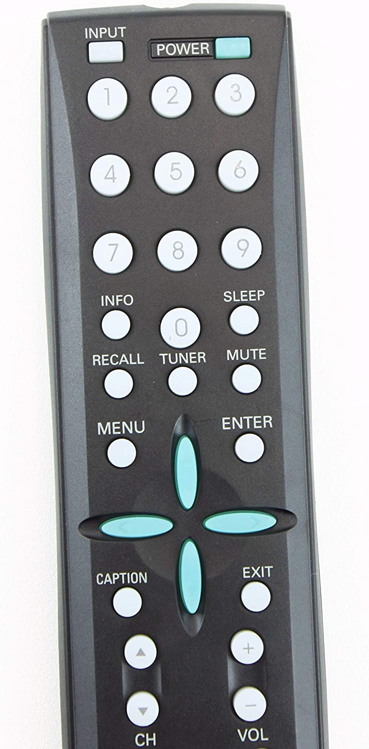 Sanyo GXBD LCD TV System Remote Control Black DP32746 for DP26746 dp26748