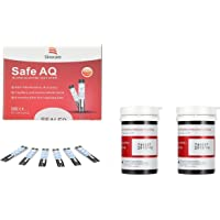 Sinocare Diabete Blood Glucose Test Strips x 50 Safe AQ Blood Suger Test Strips Codefree Test Strips, for Safe AQ Smart/Voice Only