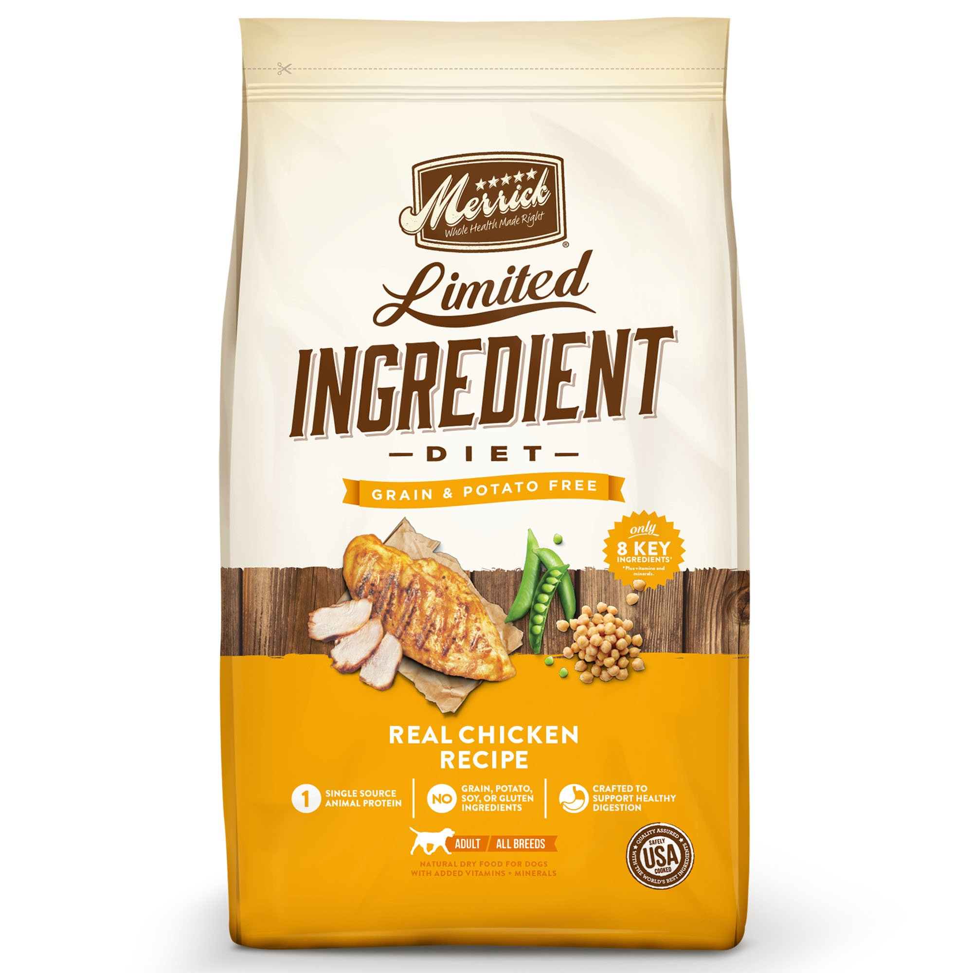 Merrick Dry Dog Food with Vitamins & Minerals for