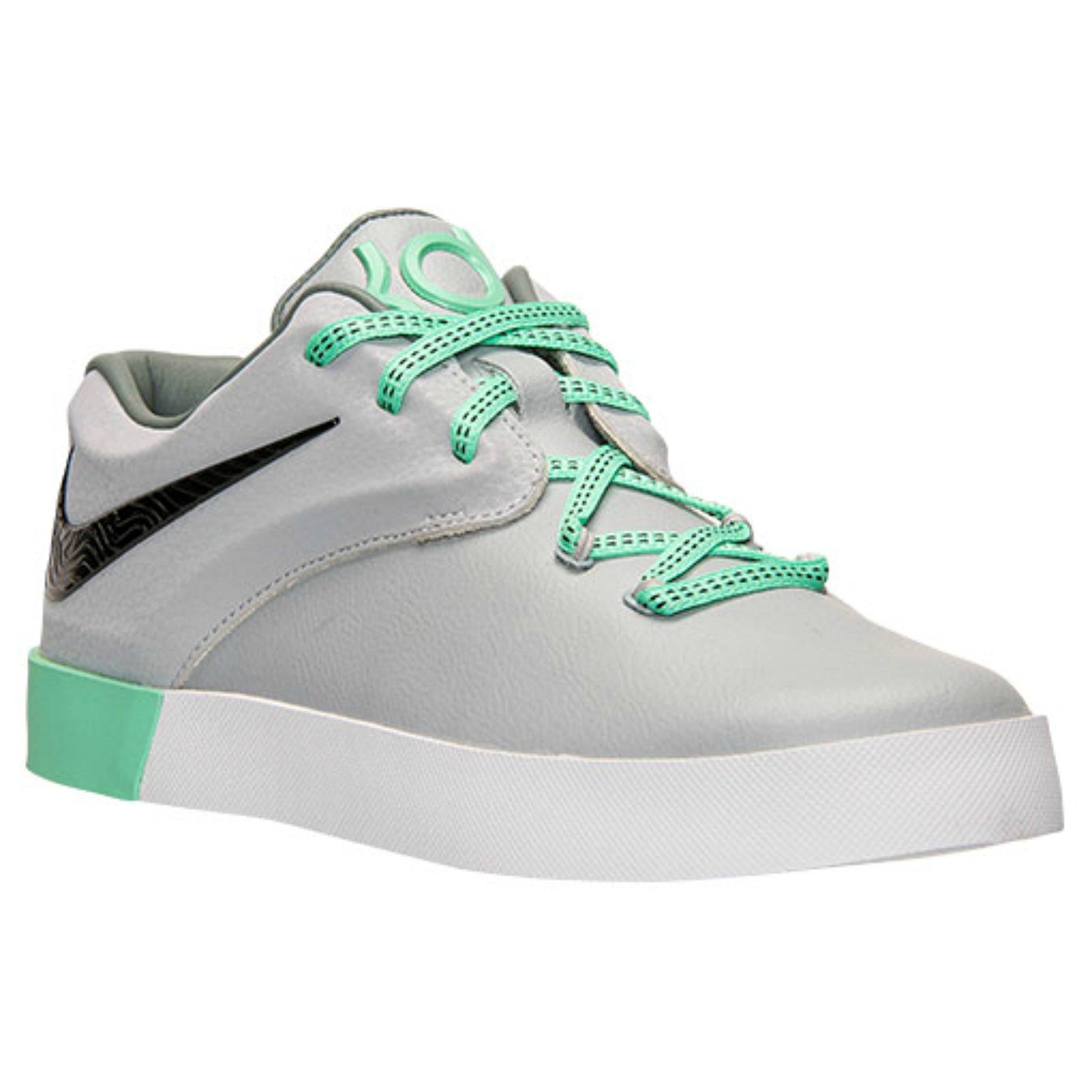 1487be742fb1 Galleon - Nike KD Vulc 2 Basketball Shoes BIG YOUTH Boys Grade School Wolf  Grey (6)