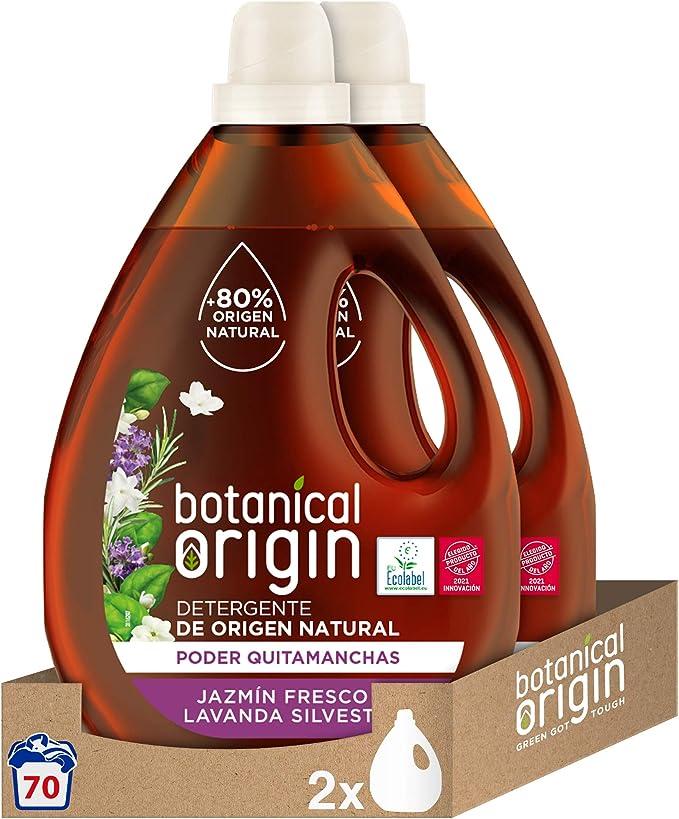 Botanical Origin Detergente para lavadora ecológico