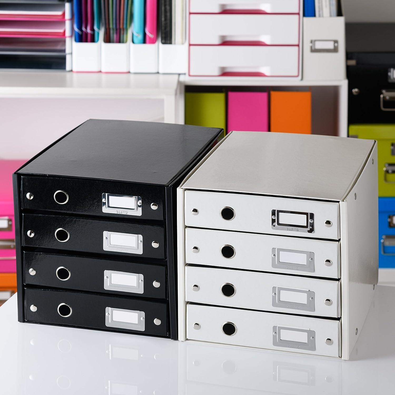 Leitz 60480064 Click/&Store Cassettiere Colore Verde 3 cassetti