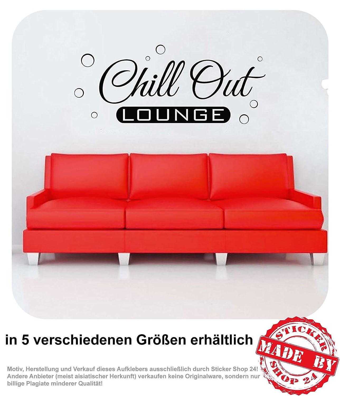 Wandtattoo Chill Out Lounge Wohnzimmer Couch Sofa Wandaufkleber