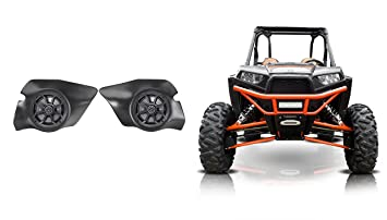 2014-2017 Polaris RZR 1000/900S/Turbo Kicker Speakers+Custom Speaker Pods
