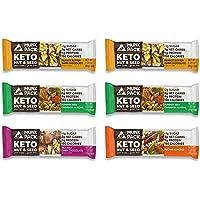 Munk Pack Variety Keto Nut & Seed Bars with <1g Sugar, 2-3g Net Carbs   Keto Snacks   No Added Sugar   Plant Based…