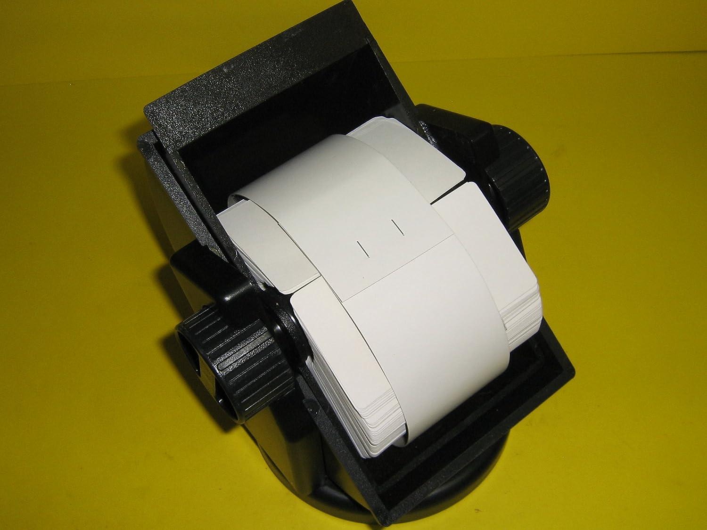 Bates®, Revolver, Covered Rotary, Swivel File, Turns 360 Degrees, 500 Cards, 2 1/4 x 4, Black, RSWC24-BK Bates® 2 1/4 x 4