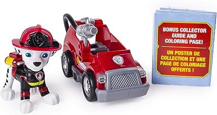Amazon Com Paw Patrol Ultimate Rescue Marshall S Mini Fire Cart