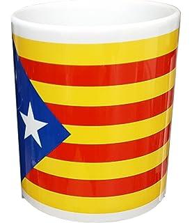 Llavero DE Piel DE LA Bandera INDEPENDENTISTA (ESTELADA) 100 ...