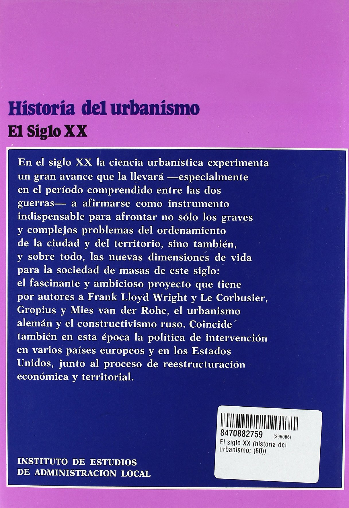 paolo sica historia del urbanismo