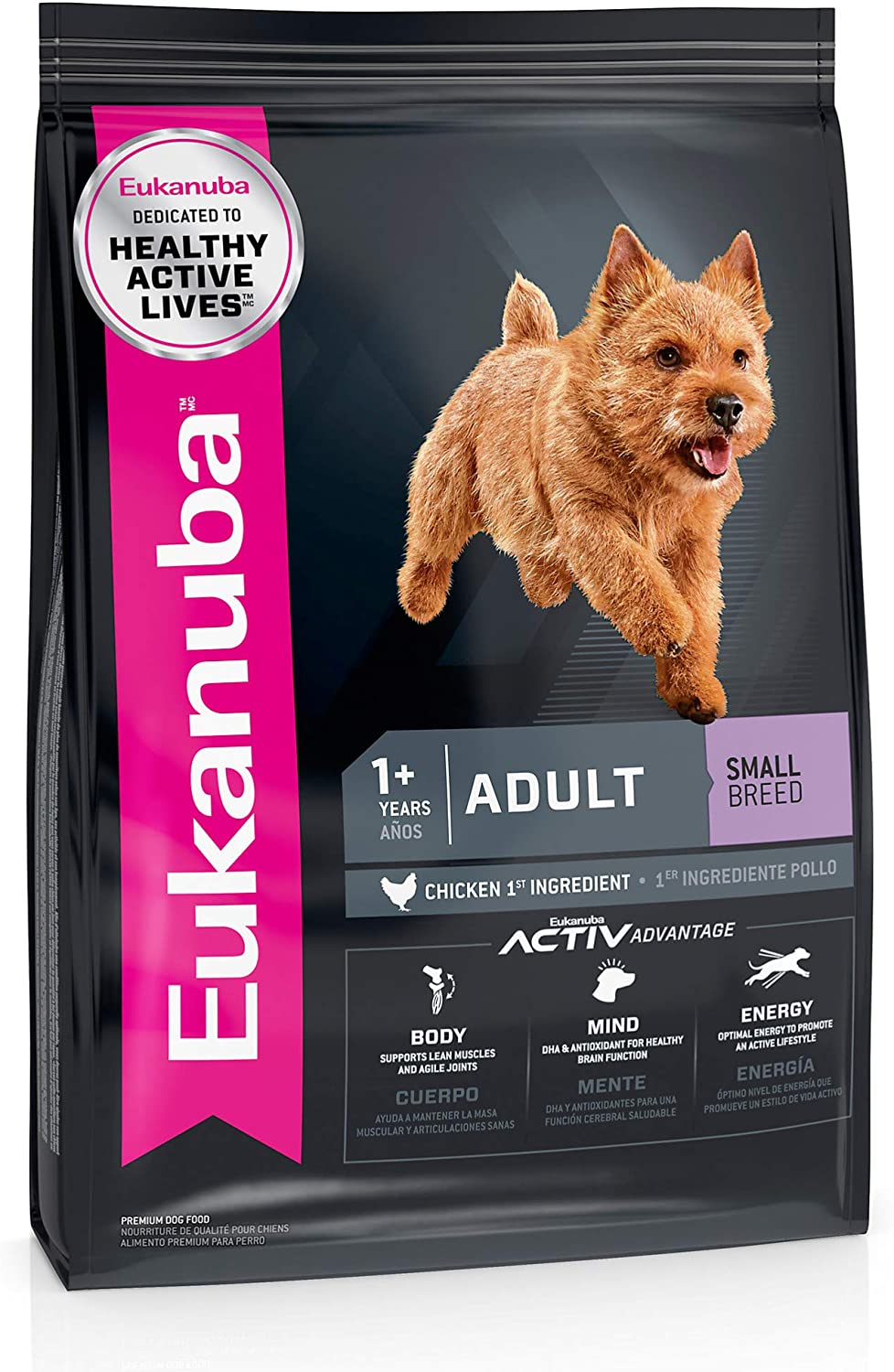 Eukanuba Adult Small Breed Dry Dog Food, 5 lb. bag