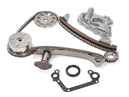 Amazon com: Evergreen TK2042GOP Fits Toyota 2ZZGE Timing Chain Kit w