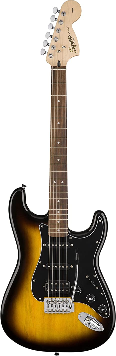 Fender Squier Affinity Stratocaster Pack HSS BSB: Amazon.es ...