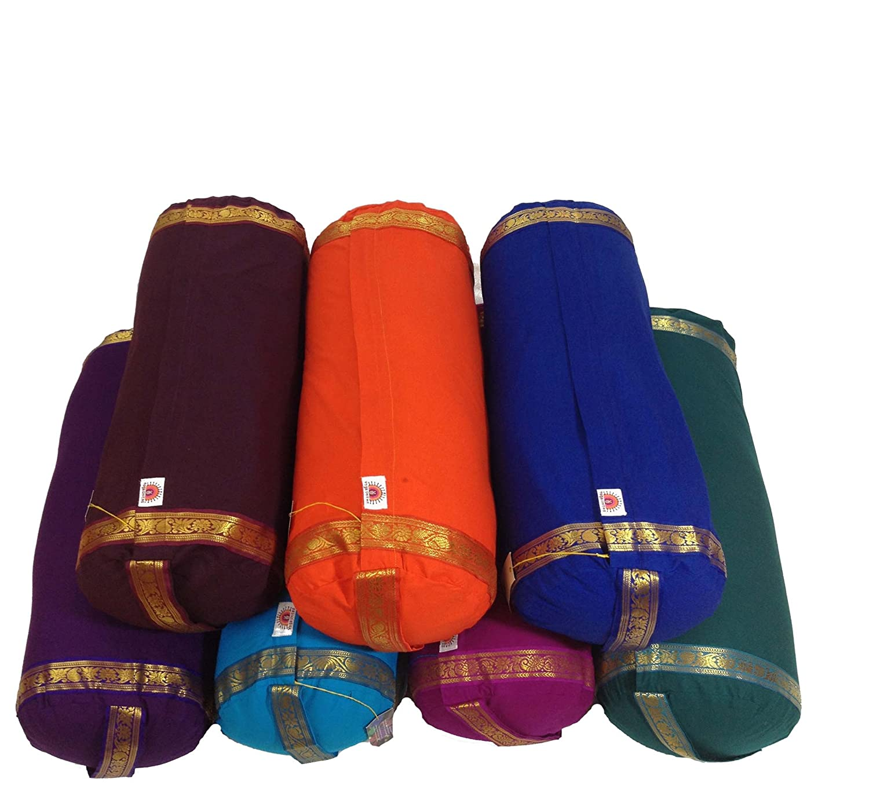 Amazon.com : Yoga United Mini Yoga Bolster (Aubergine ...