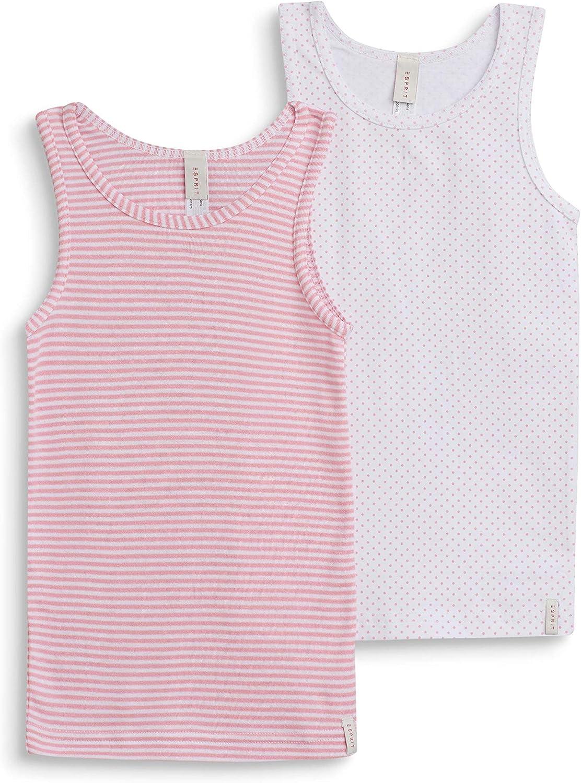 2er Pack ESPRIT M/ädchen Unterhemd