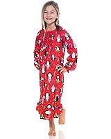 PJ & Me Girls Flannel Granny Gown Nightgown Pajamas (Little Kid/Big Kid)