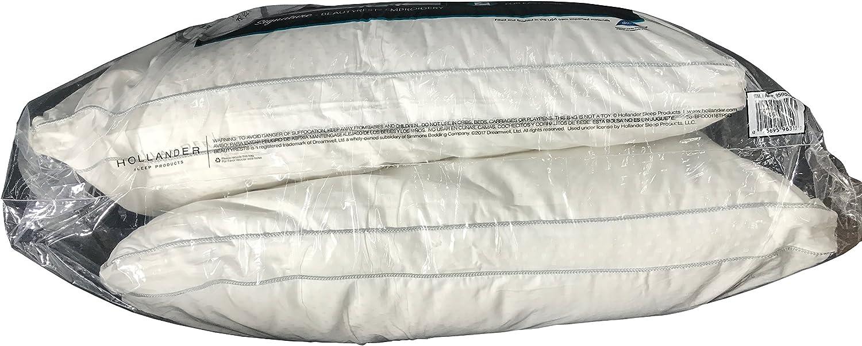 beautyrest black luxurious down alternative pillows 400 thread jumbo 2 pack