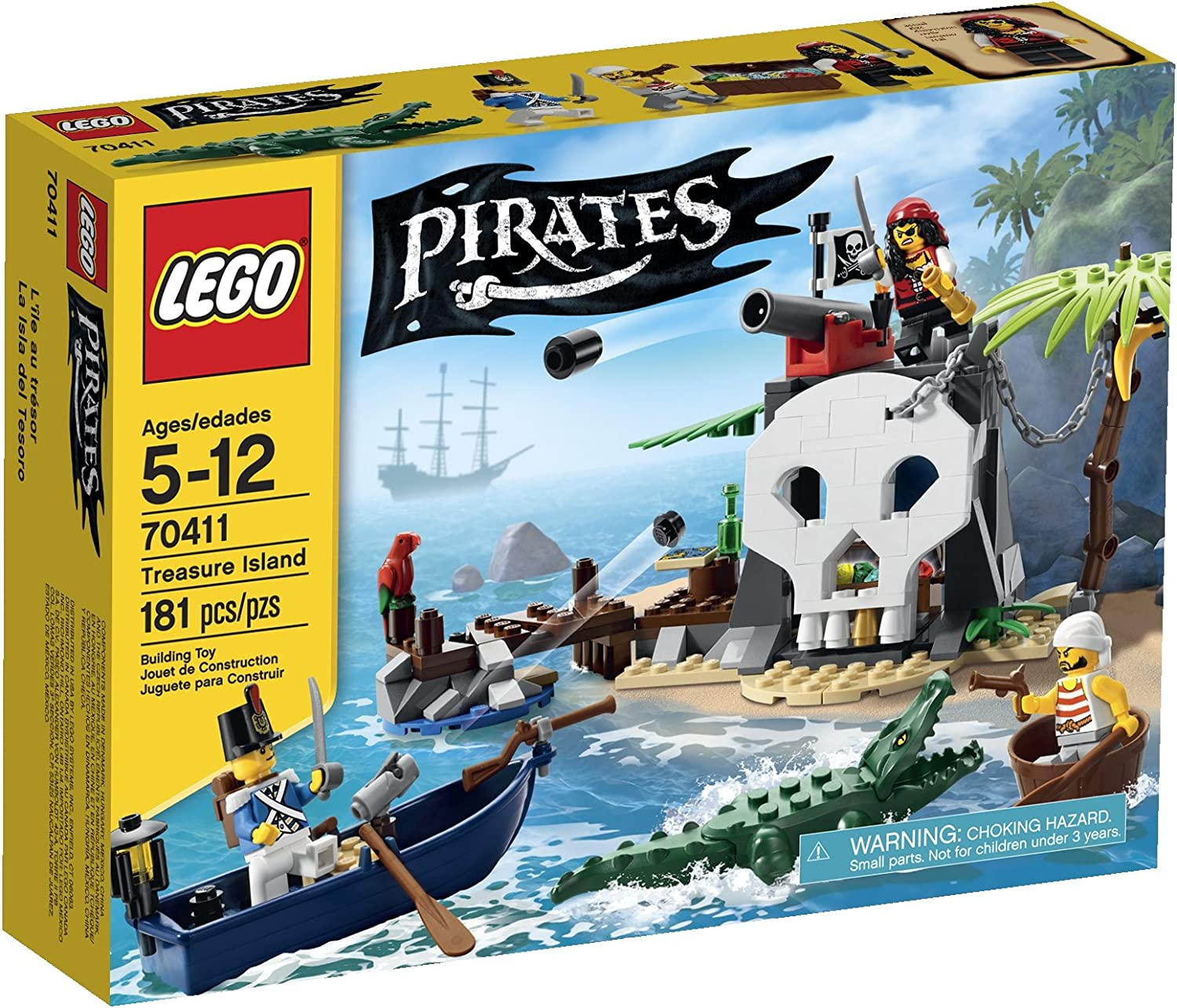 LEGO Pirates Treasure Island (70411)