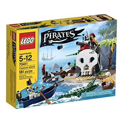 Amazoncom Lego Pirates Treasure Island 70411 Toys Games
