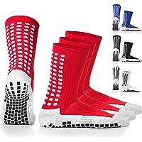 Calcetines deportivos antideslizantes, con almohadillas de goma,