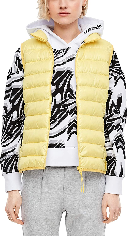 Q//S designed by Damen Steppweste mit High Neck