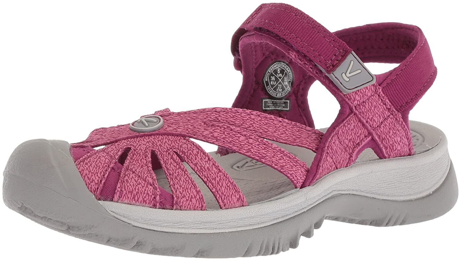 KEEN Women's Rose Sandal B071DFKS14 5 B(M) US|Boysenberry/Red Violet