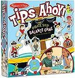 Melissa & Doug Tips Ahoy Pirate Ship Balance Game - 24 Treasure Maps, 60 Coins, 12 Pirates