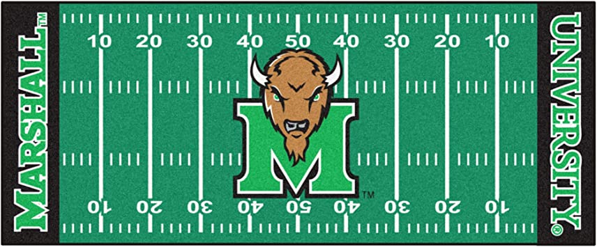 FANMATS NCAA Marshall University Thundering Herd Nylon Face All-Star Rug