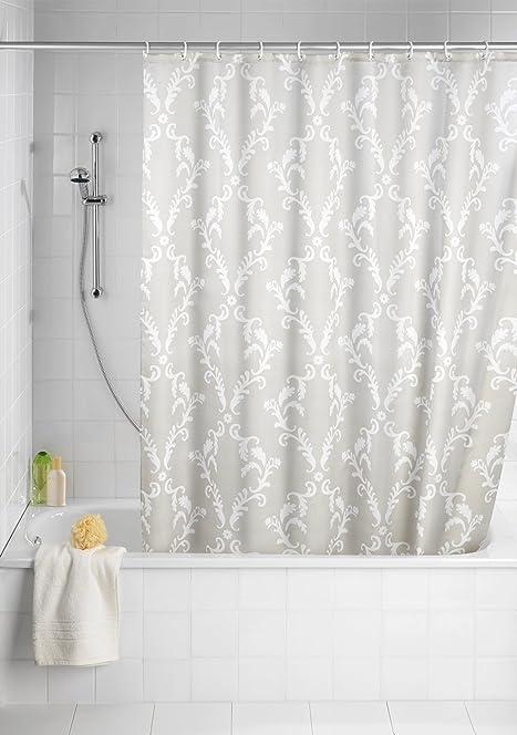 Wenko 20048100 Shower Curtain Textile Anti Mould 180 X 200 Cm