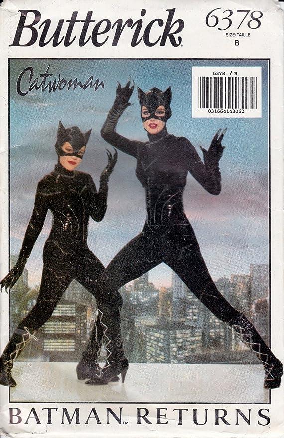 Butterick 6378 – Disfraz de Catwoman – niñas tamaño B: Amazon.es ...