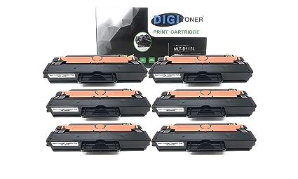 6PK D115L New Toner For Samsung MLT-D115L MLTD115L SL-M2880FW SL-M2830DW M2620
